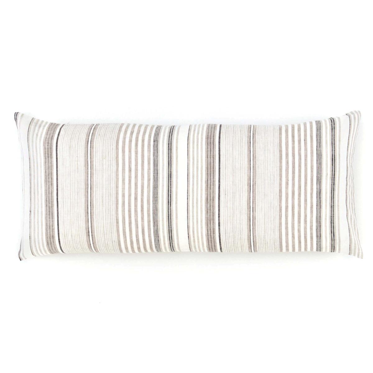 Gradation Linen Decorative Pillow