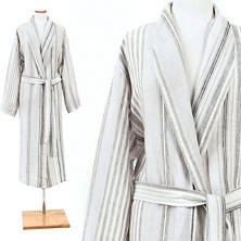 Gradation Linen Robe