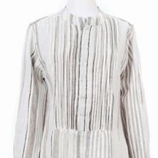 Gradation Linen Tunic
