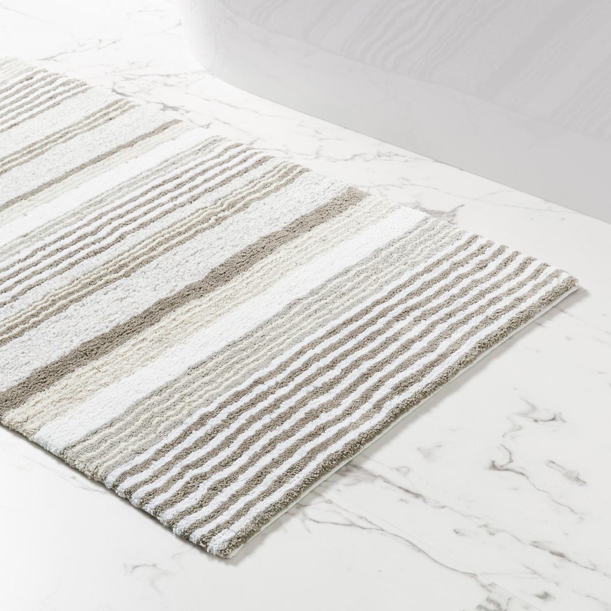 Gradation Stripe Bath Rug