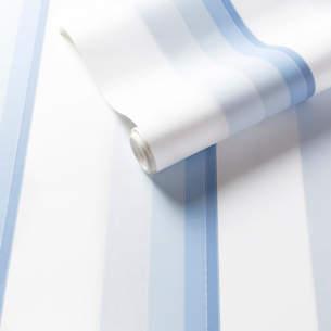 Gradient Stripe Blue Wallpaper