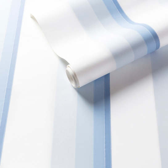 Gradient Stripe Blue Wallpaper
