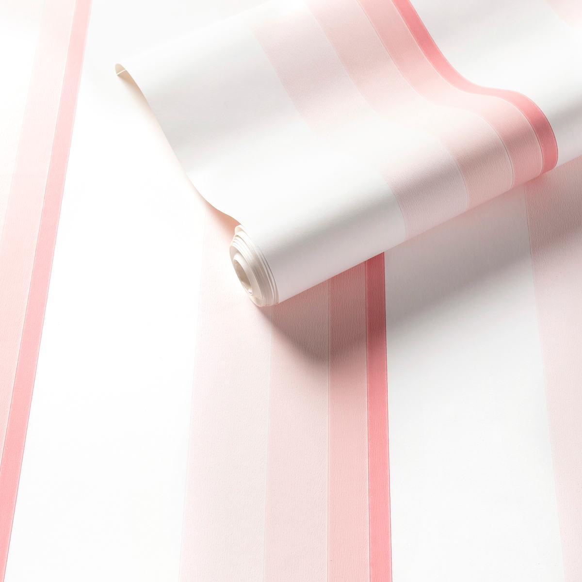 Gradient Stripe Pink Wallpaper