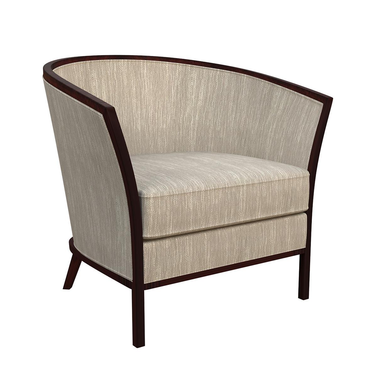 Graduate Linen Bijou Chair