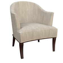 Graduate Linen Lyon Chair