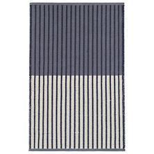 Graham Navy Woven Cotton Rug