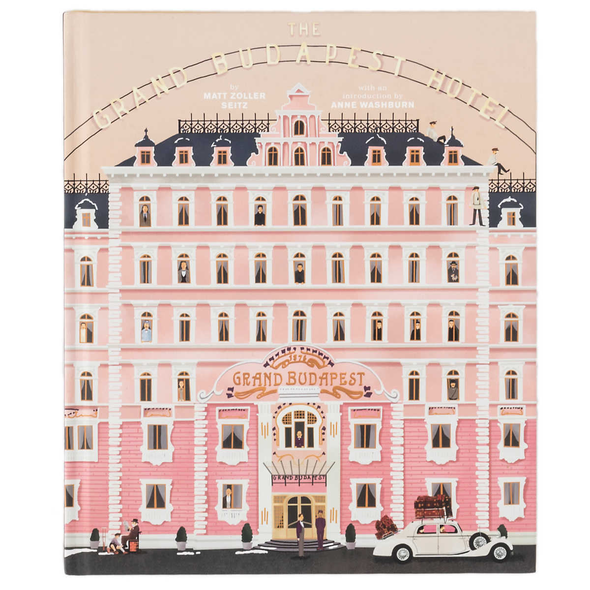 the wes anderson collection the grand budapest hotel book furniture. Black Bedroom Furniture Sets. Home Design Ideas