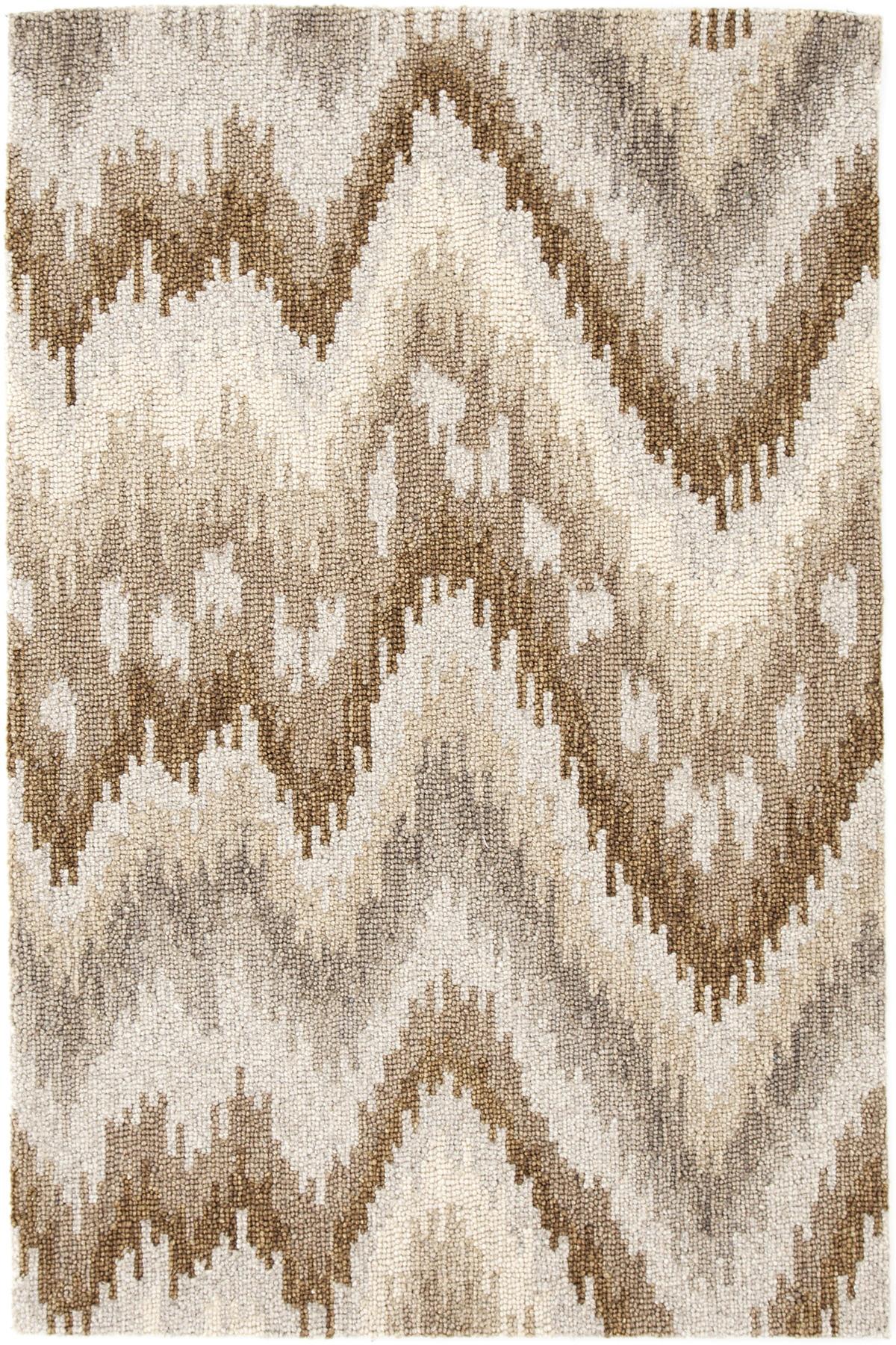 Graymond Micro Hooked Wool Rug