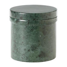 Green Marble Canister
