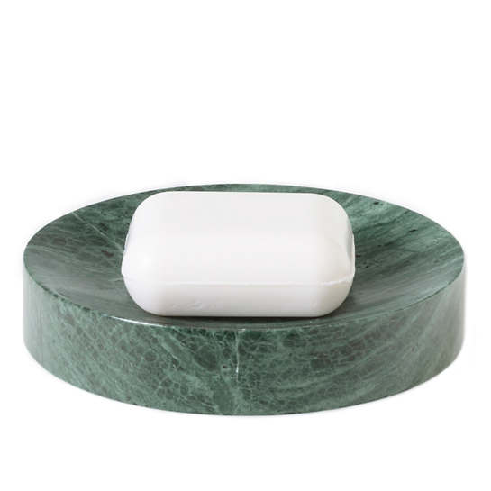 Green Marble Soap Dish