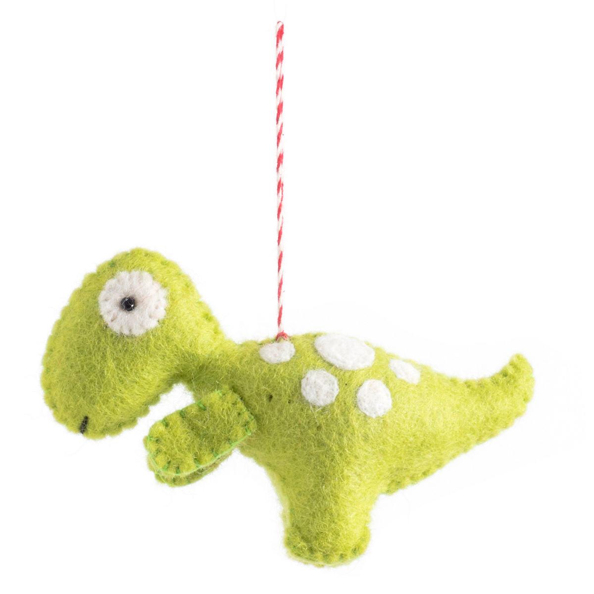 Green T-Rex Ornament