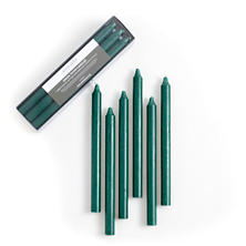 Green Taper Candles