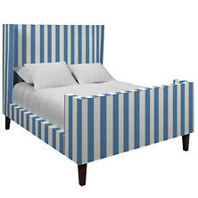 Alex French Blue Greenwich Bed