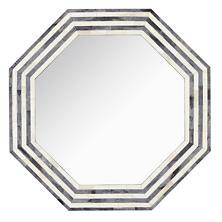 Grey Stripe Bone Inlay Mirror