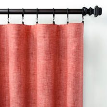 Greylock Brick Indoor/Outdoor Curtain Panel