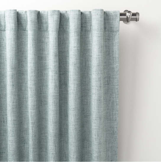Greylock Light Blue Indoor/Outdoor Curtain Panel