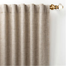 Greylock Natural Indoor/Outdoor Curtain Panel