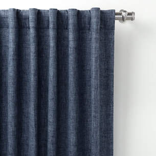 Greylock Navy Indoor Outdoor Curtain Panel