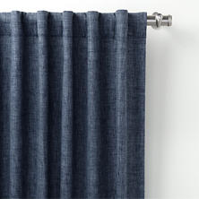 Greylock Navy Indoor/Outdoor Curtain Panel