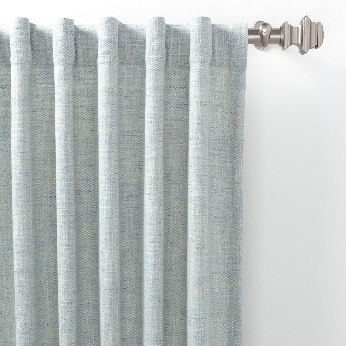 Greylock Soft Blue Indoor/Outdoor Curtain Panel