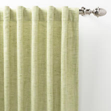 Greylock Soft Green Indoor/Outdoor Curtain Panel