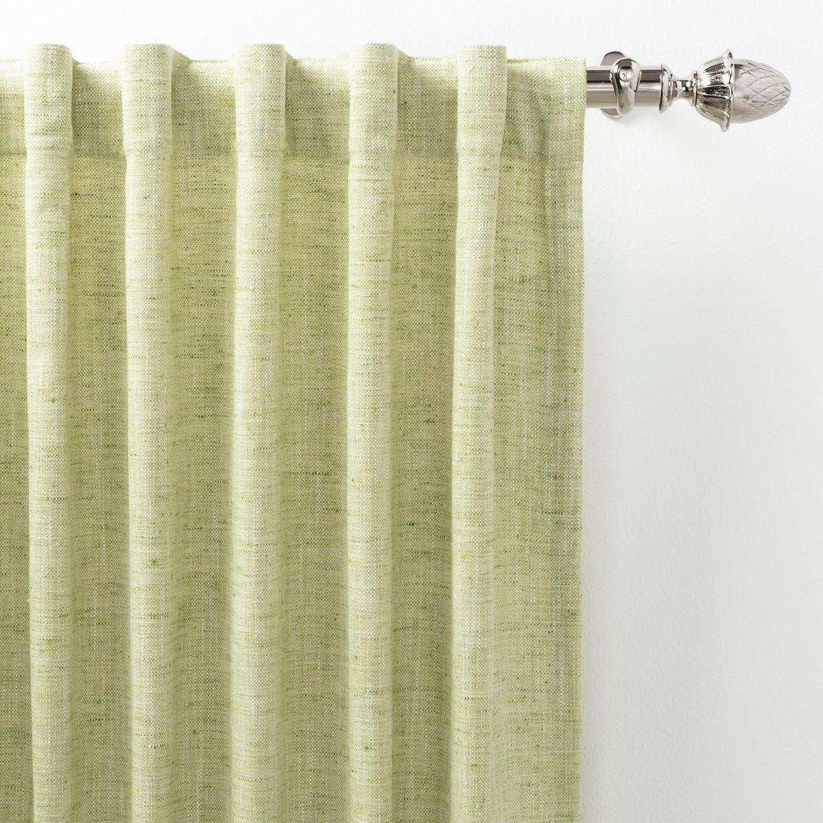 Greylock Soft Green Indoor/Outdoor Curtain Panel