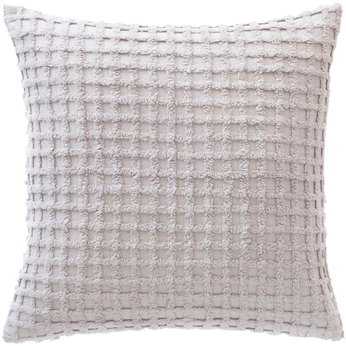 Gridwick Grey Decorative Pillow