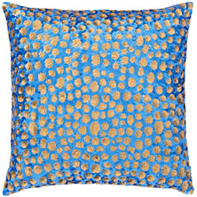 Grouper Blue/Brown Decorative Pillow