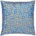 Grouper Blue/Brown Decorative Pillow