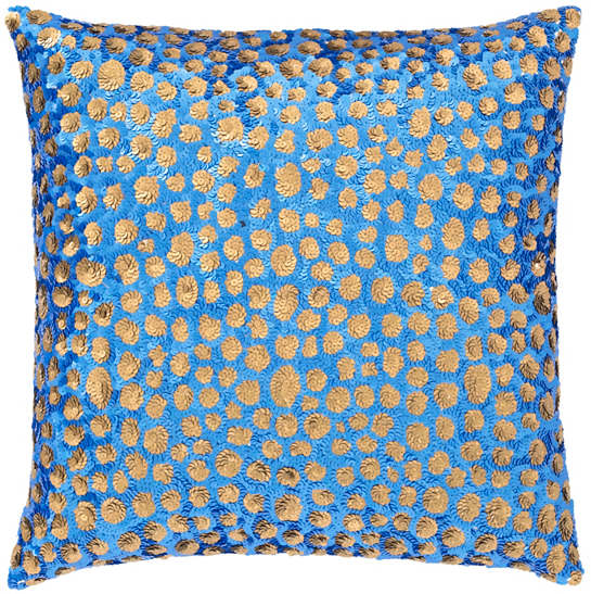 Grouper Bluebrown Decorative Pillow The Outlet