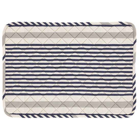 Gunner Stripe Quilted Placemat