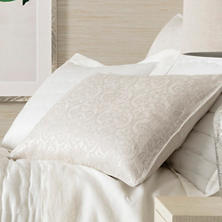 Gwendolyn Embroidered Ivory Sham