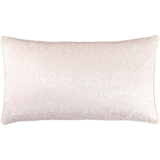 Gwendolyn Embroidered Slipper Pink Decorative Pillow