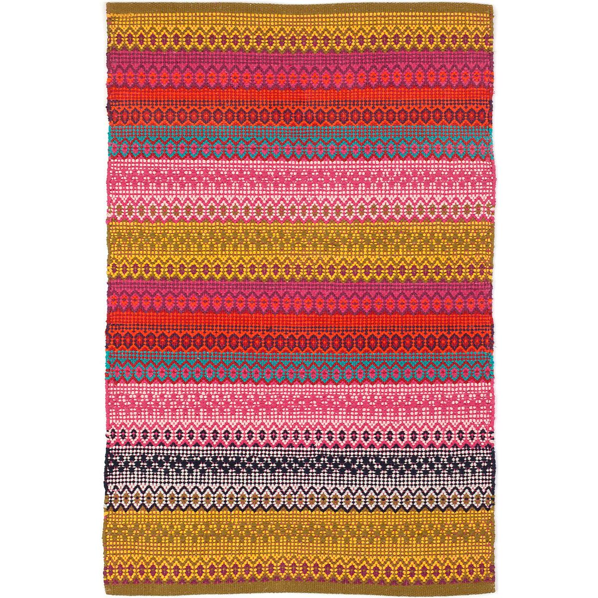 Gypsy Stripe Woven Cotton Rug Dash Amp Albert