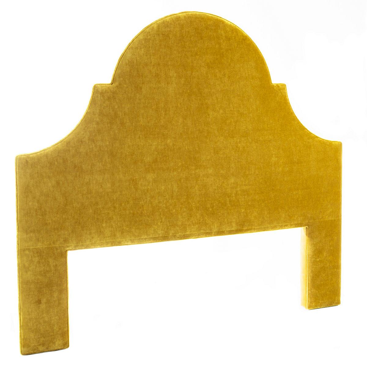 Luxe Velvet Chartreuse Montaigne Headboard