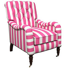 Alex Fuchsia Hancock Chair