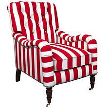 Alex Red Hancock Chair