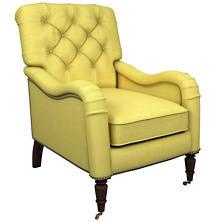 Estate Linen Citrus Hancock Chair