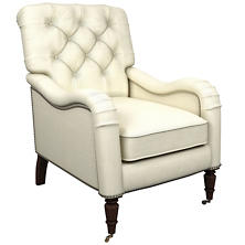 Estate Linen Ivory Hancock Chair