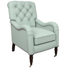 Estate Linen Powder Blue Hancock Chair