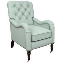 Estate Linen Powder Blue Hancock Chair