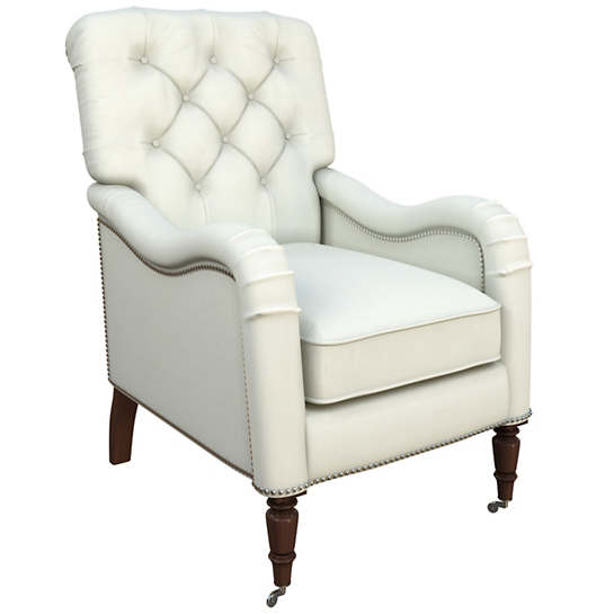 Nubby Mist Hancock Chair