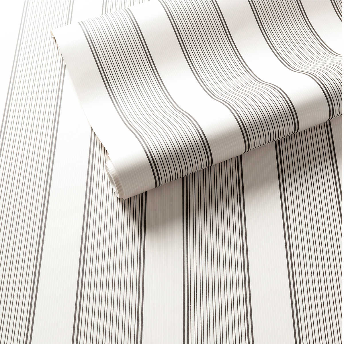 Hannah Stripe Charcoal Wallpaper Furniture