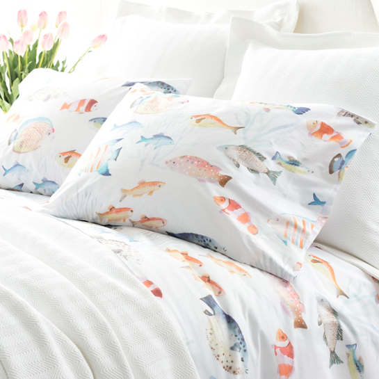 Happy Fish Pillowcases