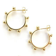 Hardin Gold Earrings