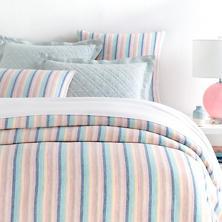 Harmony Stripe Linen  Duvet Cover