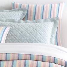 Harmony Stripe Linen  Sham