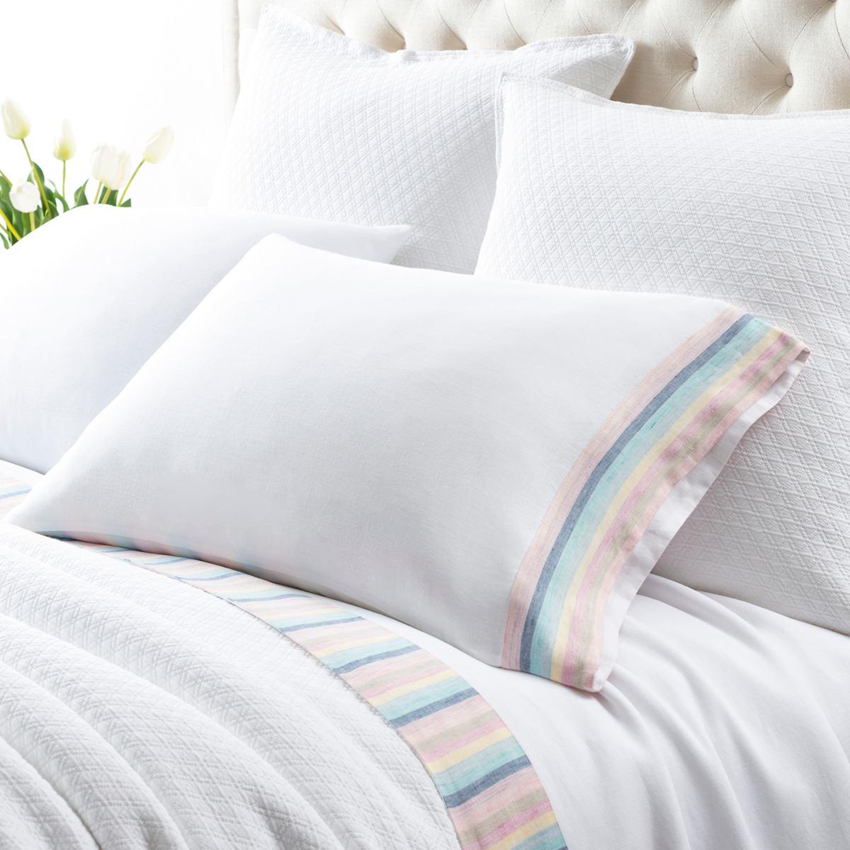 Harmony Stripe Linen  Sheet Set