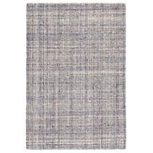 Harris Amethyst Micro Hooked Wool Rug