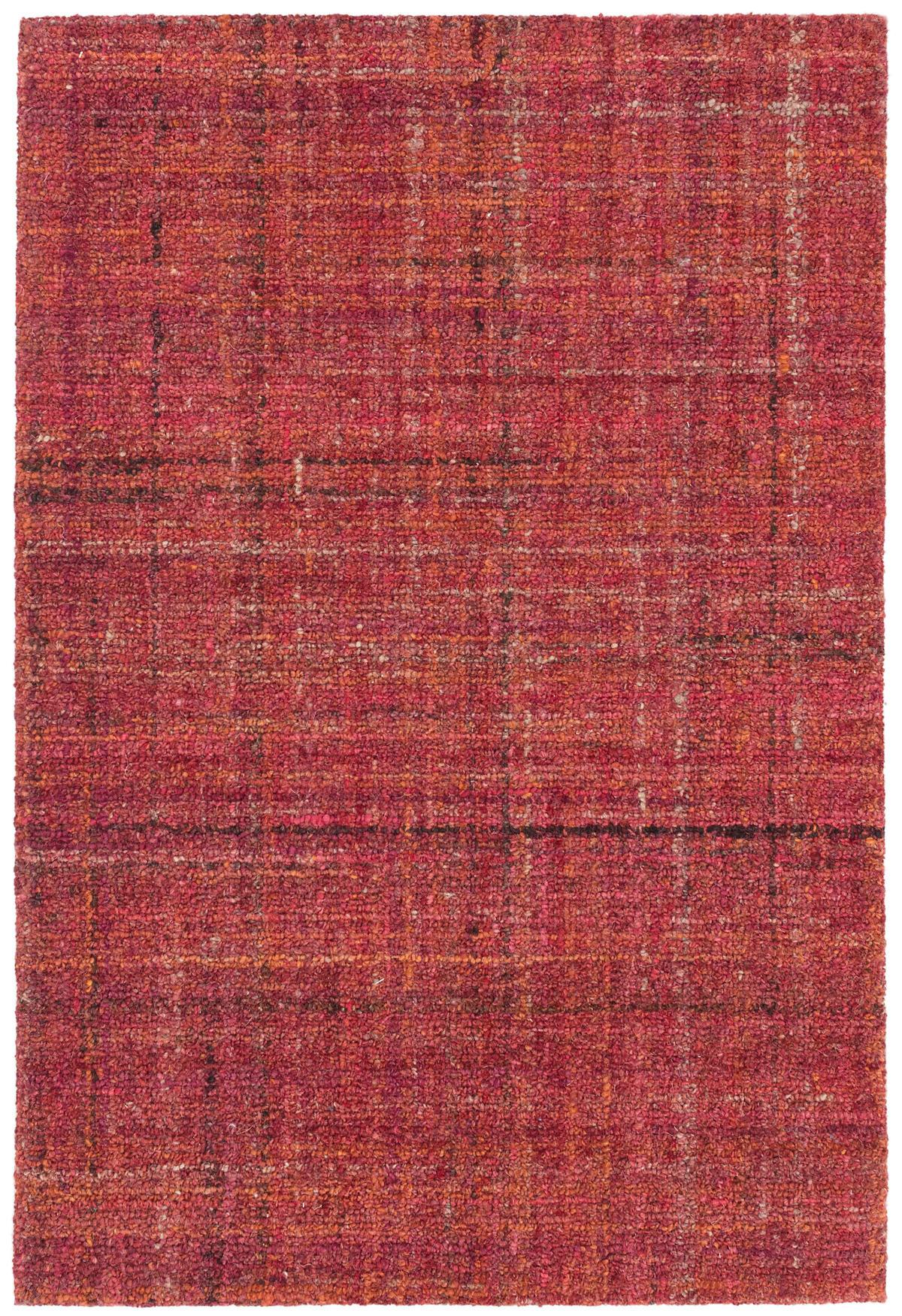 Harris Crimson Micro Hooked Wool Rug